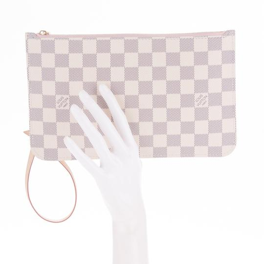 Louis Vuitton Vintage Studded Leather Monogram Tote in White Image 4