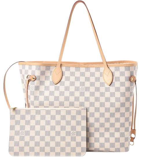Preload https://img-static.tradesy.com/item/26131112/louis-vuitton-neverfull-new-2019-classic-mm-beige-with-pouch-shoulder-handbag-damier-azur-canv-white-0-3-540-540.jpg