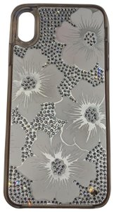 Kate Spade Kate Spade crystal and leather floral XS Max case