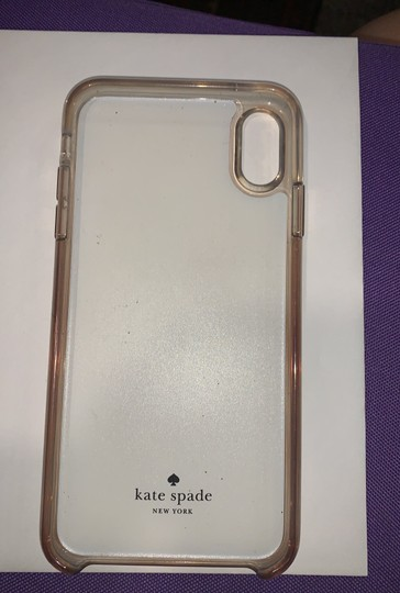 Kate Spade Kate Spade crystal and leather floral XS Max case Image 1