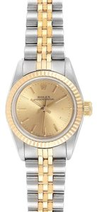 Rolex Rolex Oyster Perpetual 24mm Steel Yellow Gold Ladies Watch 67193