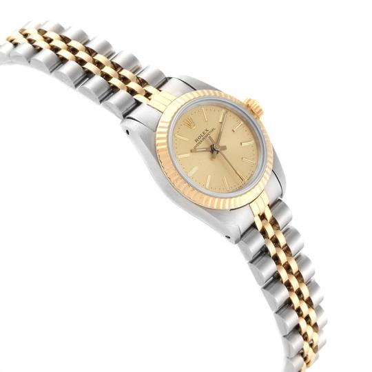 Rolex Rolex Oyster Perpetual 24mm Steel Yellow Gold Ladies Watch 67193 Image 2