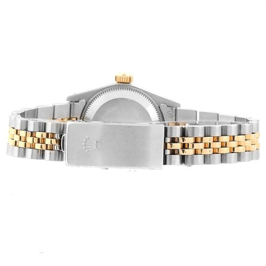 Rolex Rolex Oyster Perpetual 24mm Steel Yellow Gold Ladies Watch 67193 Image 8
