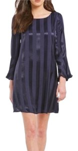 Daniel Cremieux Satin Striped Dress