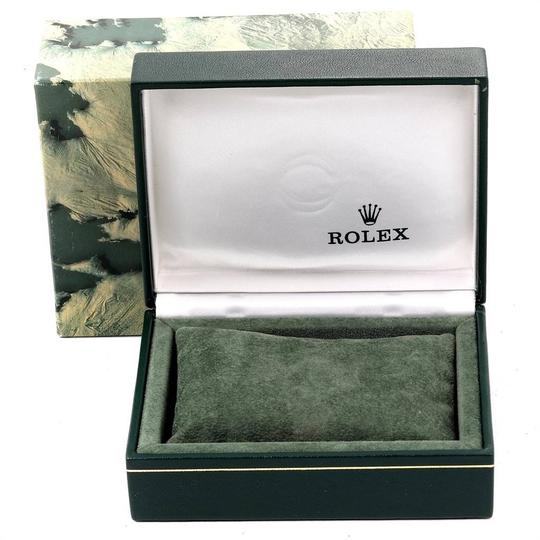 Rolex Rolex Date Mens Steel 18k Yellow Gold White Dial Mens Watch 15223 Image 10