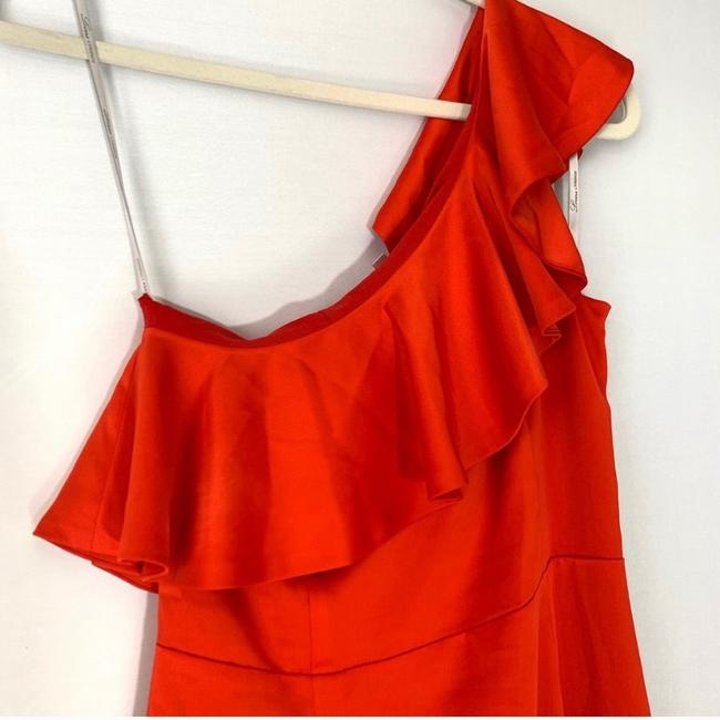 Lovers + Friends Ruffle Gown One Shoulder Dress Image 3