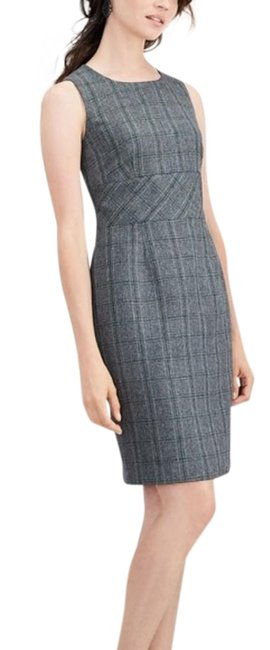 Preload https://img-static.tradesy.com/item/26131156/kasper-gray-plaid-print-sleeveless-career-sheath-short-workoffice-dress-size-16-xl-plus-0x-0-3-650-650.jpg