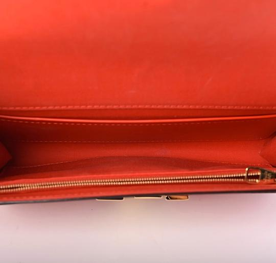 Louis Vuitton Red Clutch Image 1