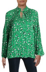 Lauren Ralph Lauren Polyester Top Green
