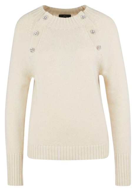 Preload https://img-static.tradesy.com/item/26131184/jcrew-with-jeweled-buttons-size-s-beige-sweater-0-4-650-650.jpg