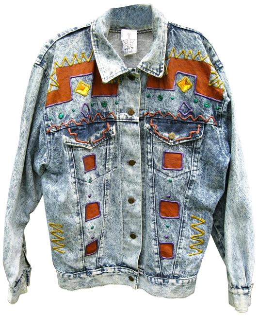 Preload https://img-static.tradesy.com/item/26131196/blue-vtg-jean-acid-wash-hand-painted-squiggles-80s-art-to-wear-jacket-size-6-s-0-5-650-650.jpg