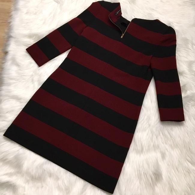 Zara short dress Red and Black on Tradesy Image 5