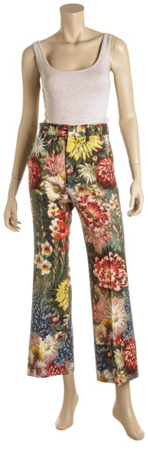 Preload https://img-static.tradesy.com/item/26131240/gucci-multicolor-wool-and-mohair-impressionist-floral-print-cuffed-493456-pants-size-0-xs-25-0-4-650-650.jpg