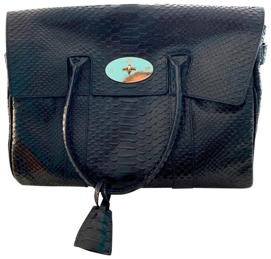 Mulberry Satchel in Black Image 0