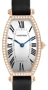 Cartier Cartier Tonneau 18K Yellow Gold Diamond Ladies Watch WE400331