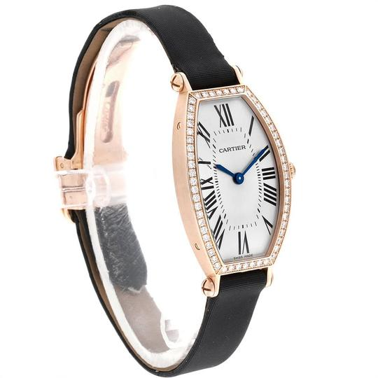 Cartier Cartier Tonneau 18K Yellow Gold Diamond Ladies Watch WE400331 Image 2