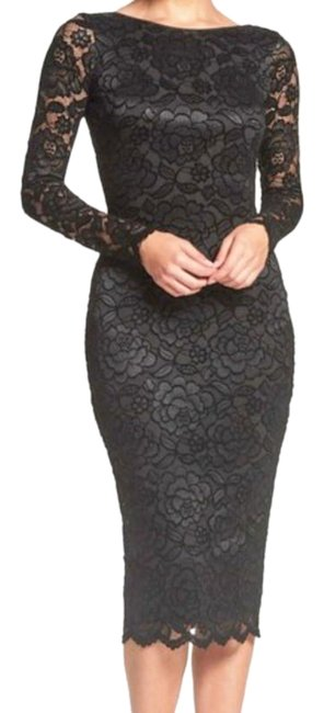 Preload https://img-static.tradesy.com/item/26131285/dress-the-population-black-stretch-lace-body-con-mid-length-night-out-dress-size-2-xs-0-9-650-650.jpg