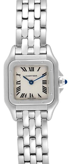 Preload https://img-static.tradesy.com/item/26131295/cartier-silver-panthere-ladies-small-stainless-steel-w25033p5-watch-0-3-540-540.jpg