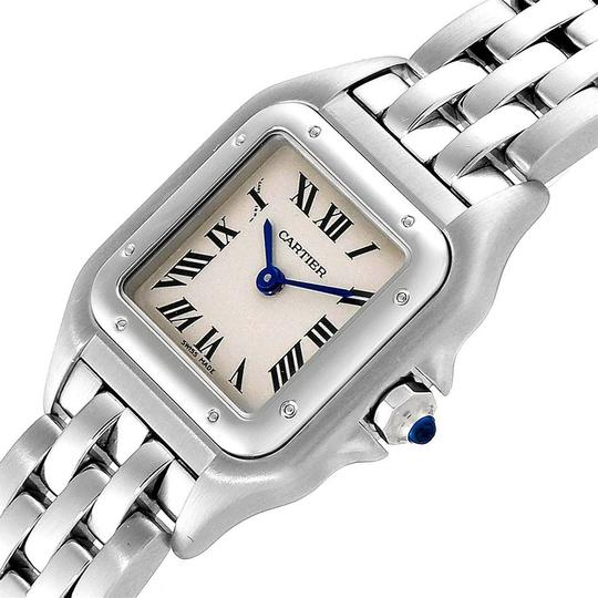 Cartier Cartier Panthere Ladies Small Stainless Steel Watch W25033P5 Image 4