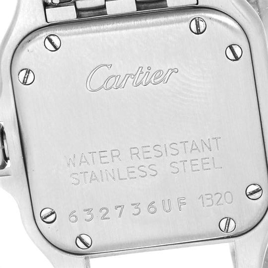 Cartier Cartier Panthere Ladies Small Stainless Steel Watch W25033P5 Image 5