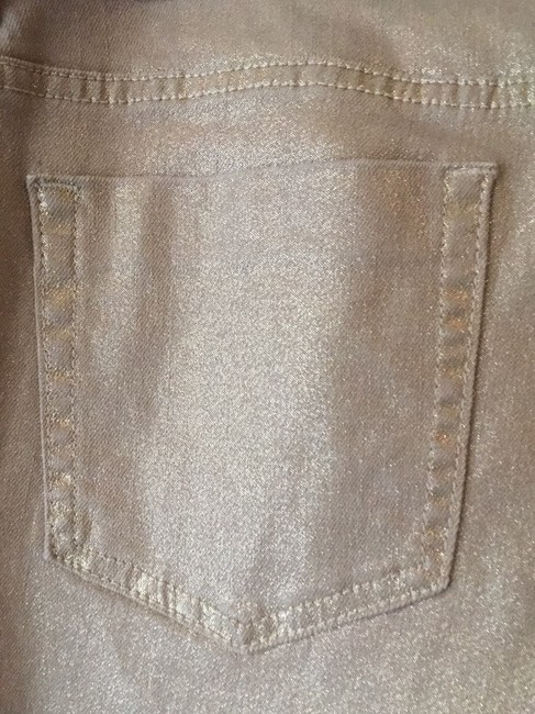 Chico's Straight Leg Jeans-Coated Image 3