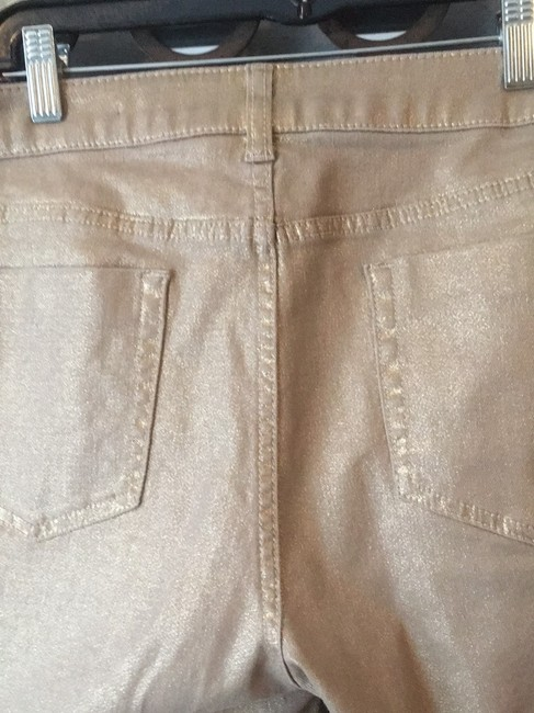 Chico's Straight Leg Jeans-Coated Image 4