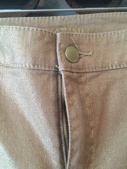 Chico's Straight Leg Jeans-Coated Image 5