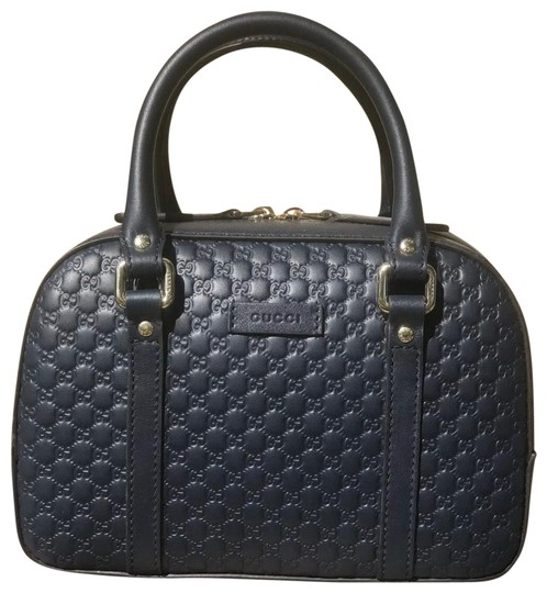Preload https://img-static.tradesy.com/item/26131345/gucci-510289-small-gg-micro-guccissima-navy-blue-leather-satchel-0-4-540-540.jpg