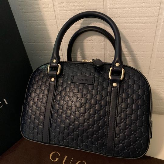 Gucci Satchel in Navy blue Image 2