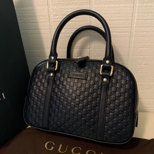 Gucci Satchel in Navy blue Image 3