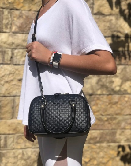 Gucci Satchel in Navy blue Image 6