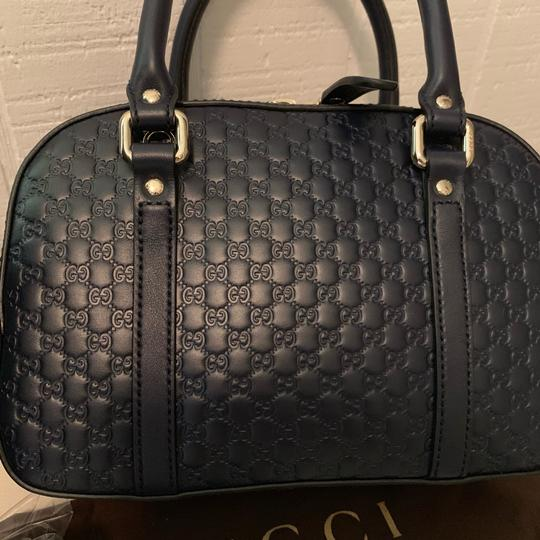 Gucci Satchel in Navy blue Image 8
