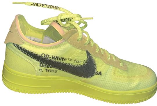 Preload https://img-static.tradesy.com/item/26131384/nike-lime-green-air-force-one-off-white-volt-sneakers-size-us-105-regular-m-b-0-4-540-540.jpg
