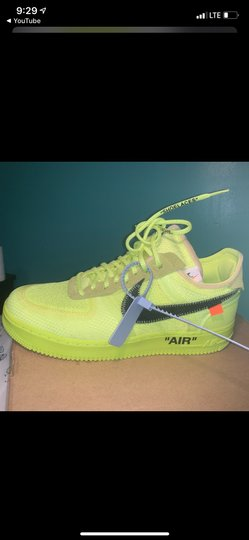 Nike Lime green Athletic Image 1