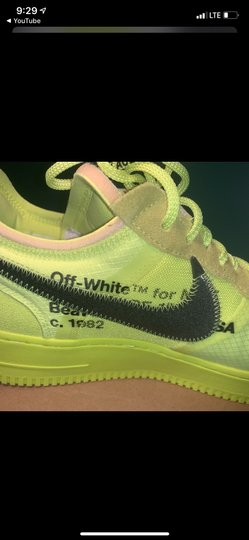 Nike Lime green Athletic Image 4