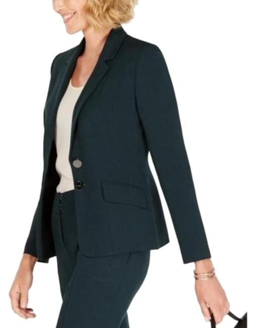 Preload https://img-static.tradesy.com/item/26131387/kasper-green-two-button-faux-pockets-jacket-blazer-size-12-l-0-3-650-650.jpg