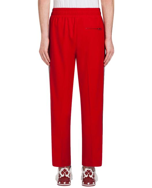 Dolce&Gabbana Athletic Pants Red Image 1