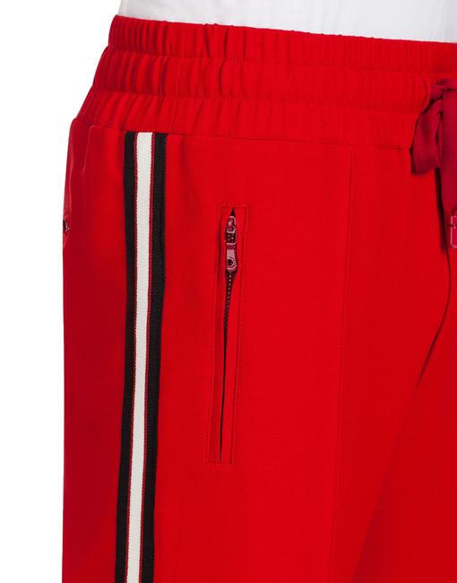 Dolce&Gabbana Athletic Pants Red Image 2