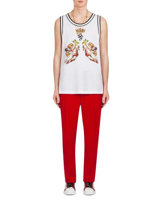 Dolce&Gabbana Athletic Pants Red Image 3