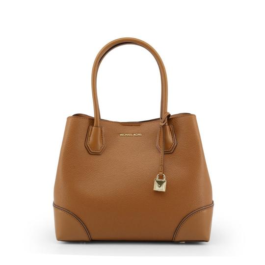 Preload https://img-static.tradesy.com/item/26131443/michael-kors-brown-leather-shoulder-bag-0-0-540-540.jpg