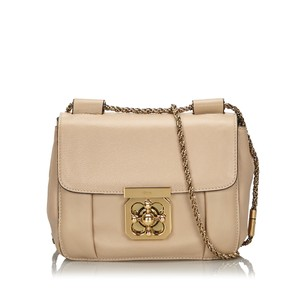 Chloé 9iclsh004 Vintage Leather Shoulder Bag