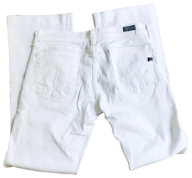 Item - Light Wash White Boot Cut Jeans Size 10 (M, 31)