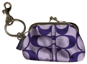 Coach Coach Change Purse Keychain