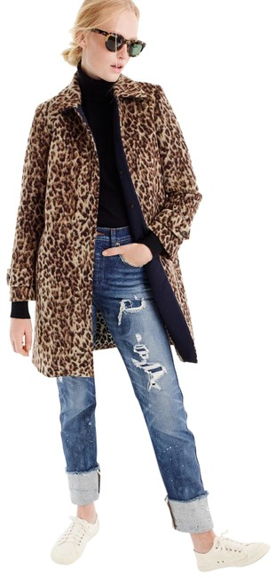 Item - Snow Leopard Topcoat In Double H2734 Coat Size 4 (S)