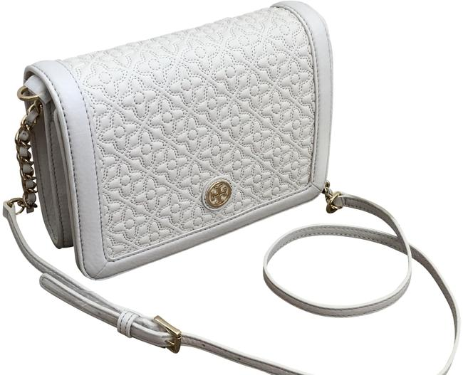 Item - Bryant Quilted White Leather Cross Body Bag