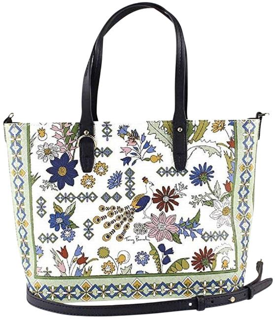 Item - Kerrington Small Zip Multi Color Canvas Tote