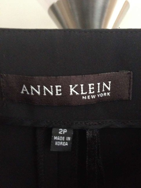 Anne Klein Straight Pants Black