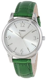 Timex Timex Female Fashion Watch T2P092 Silver Analog