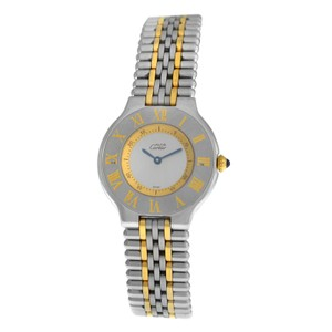 Cartier Ladies' Cartier Must de Cartier 1330 Bullet Quartz Steel Gold 31MM