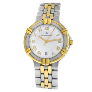 Maurice Lacroix Maurice Lacroix 95437 Gold Electroplated Steel Quartz 35MM Date